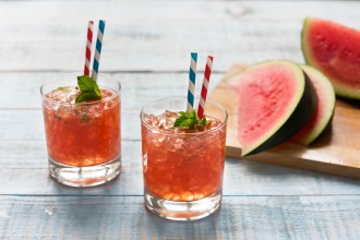Recept voor watermeloencocktail
