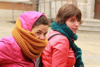 In het HelloFresh-zonnetje: Inge en Cindy
