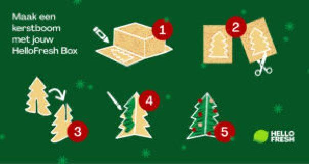 Zelf een kerst boom maken