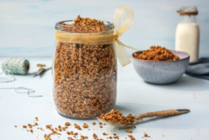 Homemade granola - cadeautje