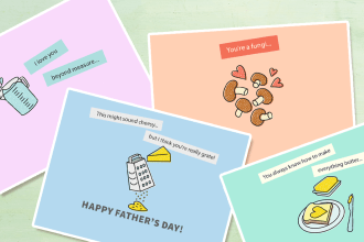 Meet Our Printable Father's Day Cards!