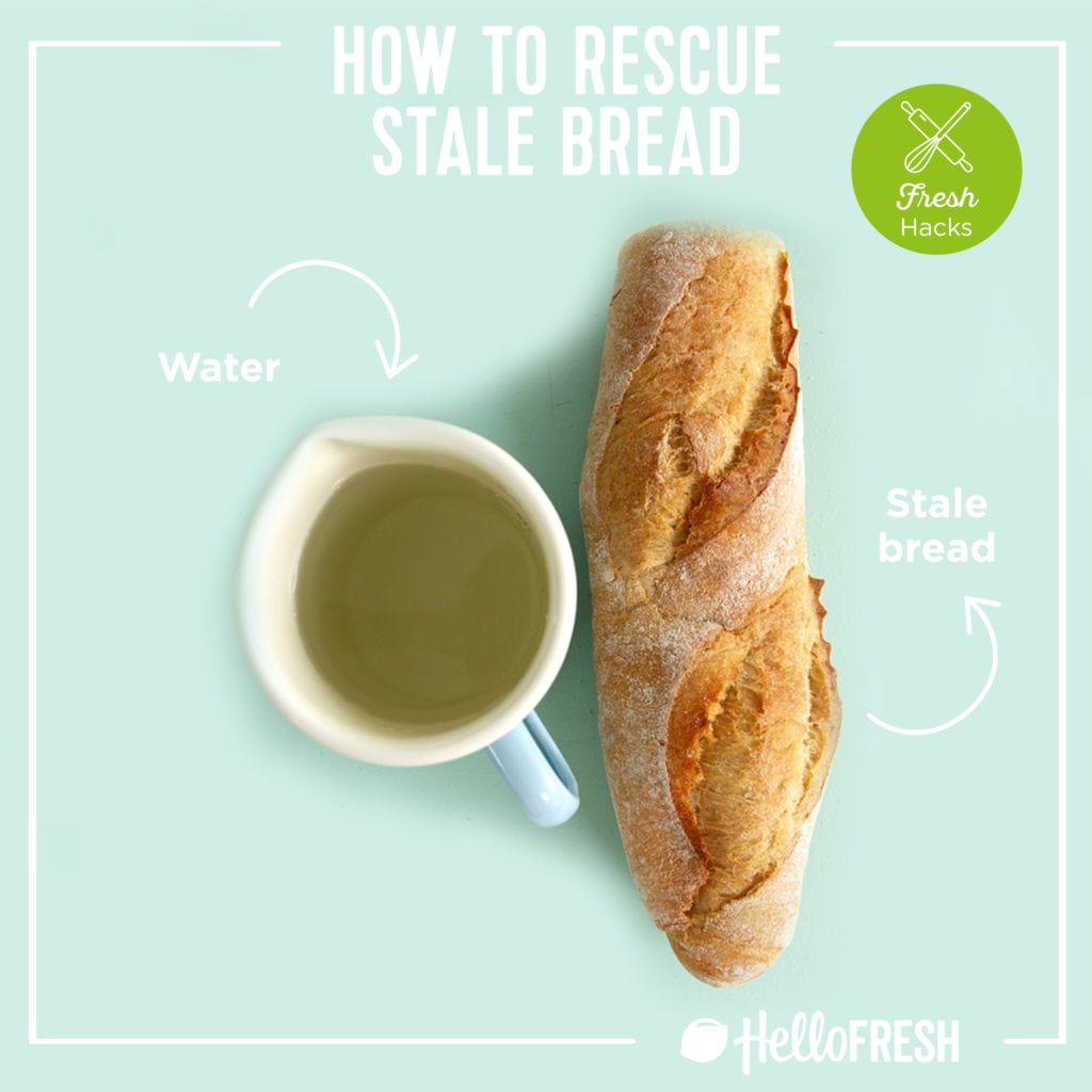 kitchen hacks- hellofresh-tips-how to-bread-stale bread