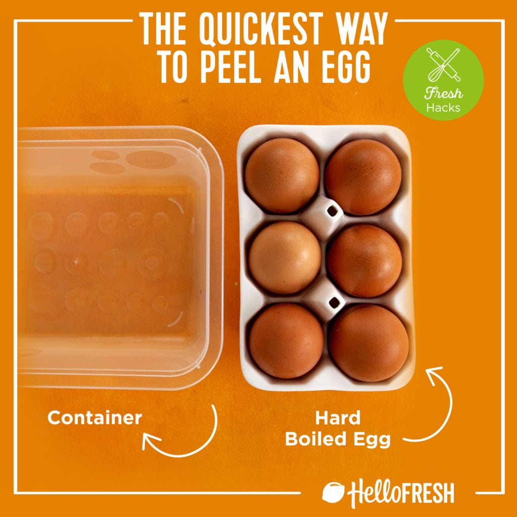 kitchen hacks- hellofresh-tips-how to-peel eggs-eggs