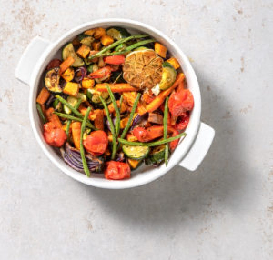 how to use roasted veggie leftovers