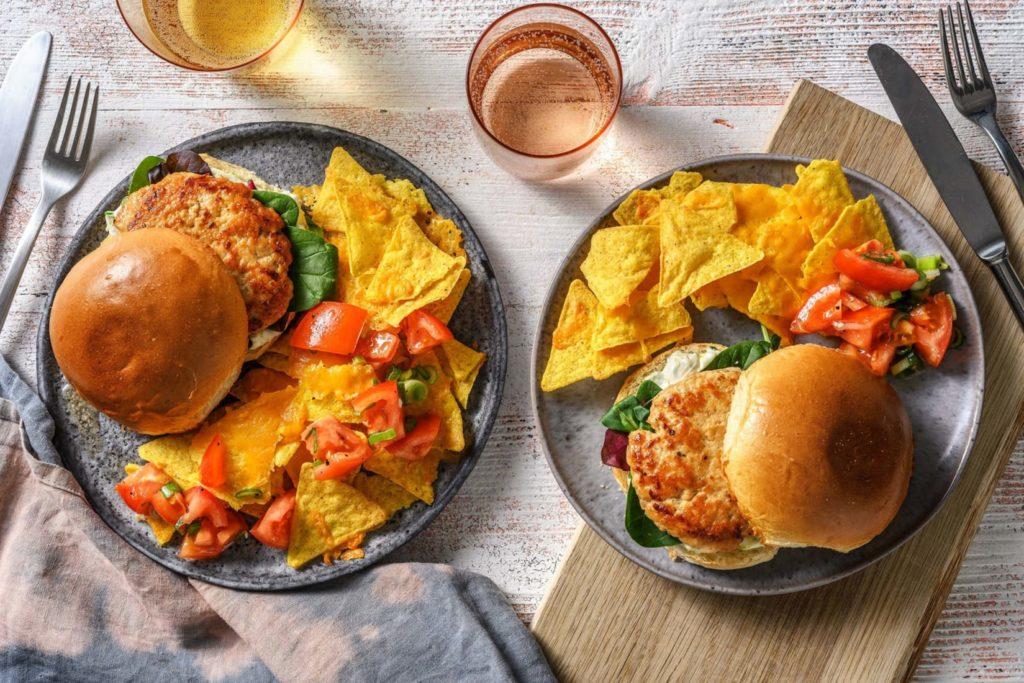 tex mex burger kid-approved dinner idea