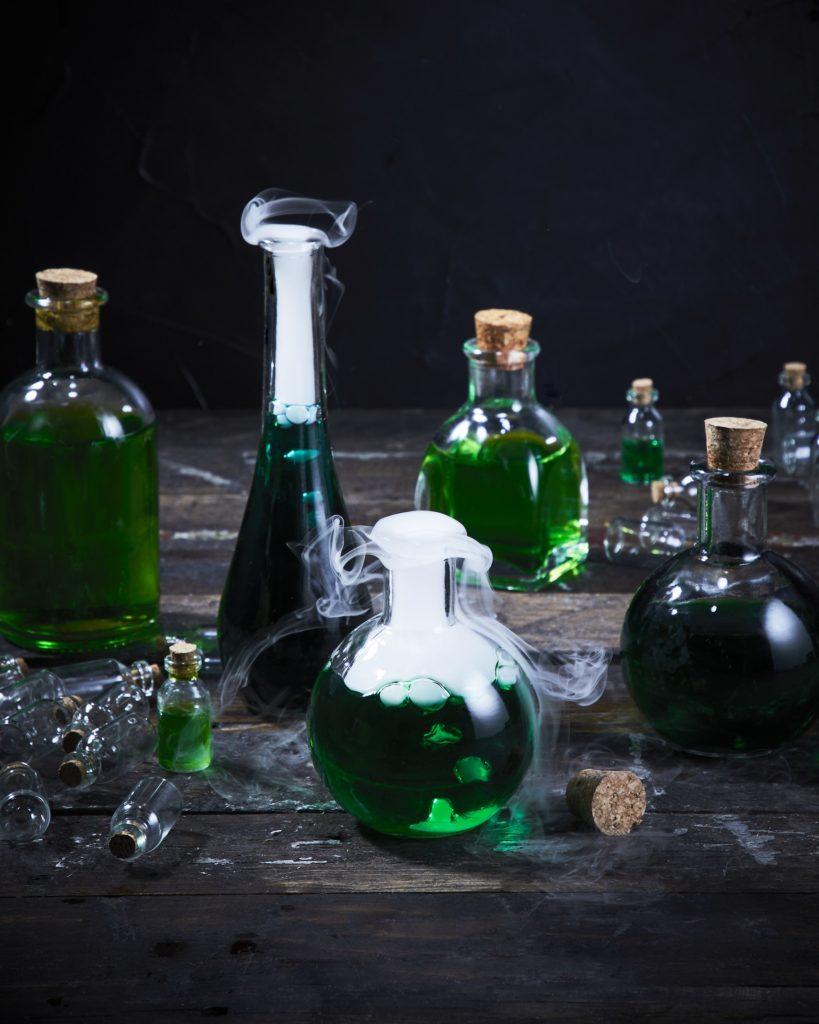 mad scientist halloween cocktail