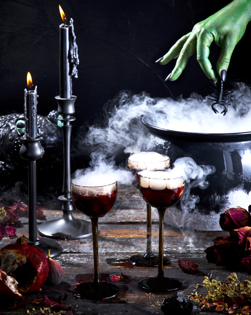 witch's brew punch for halloween
