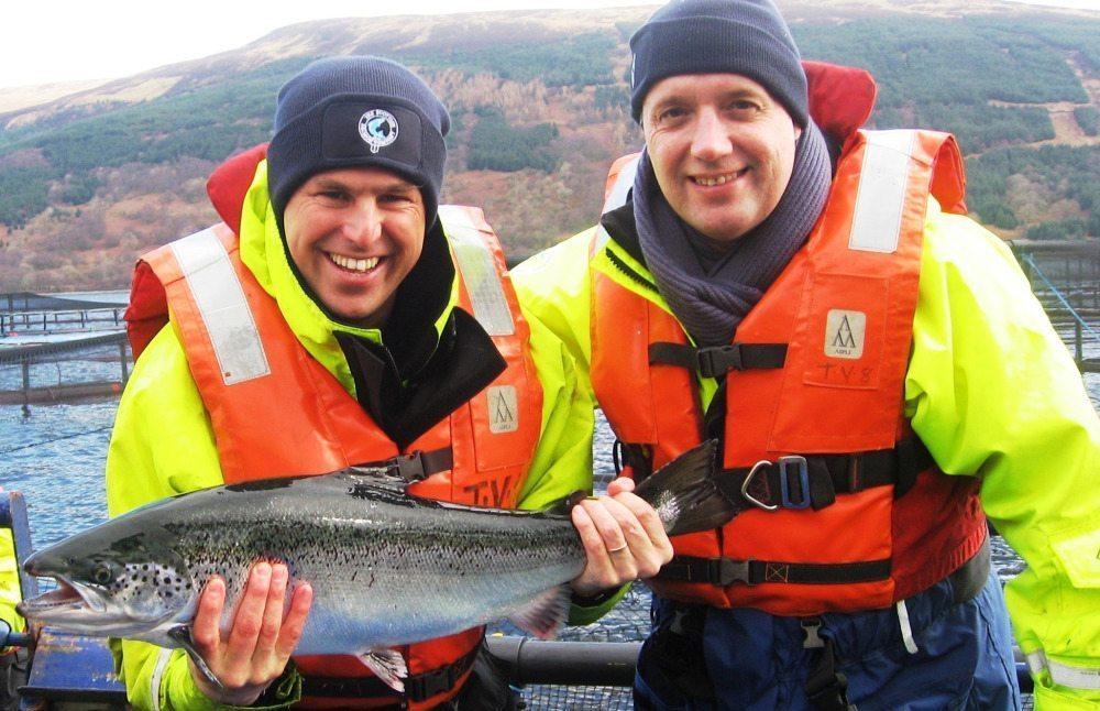 Mick & Gerrit in Schotland
