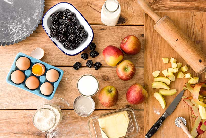 Apple and Blackberry pie recipe