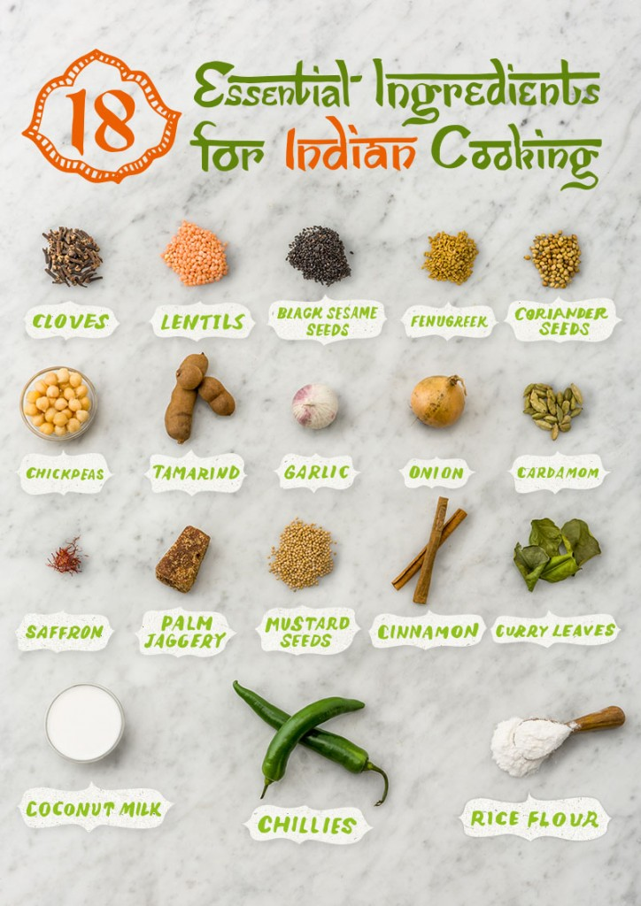 essential ingredients for indian cooking
