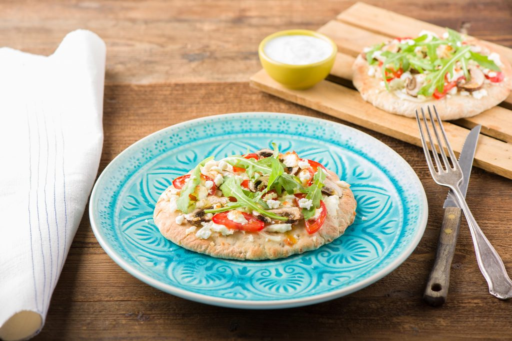 Kindgerechte Rezepte: Pita Pizzen