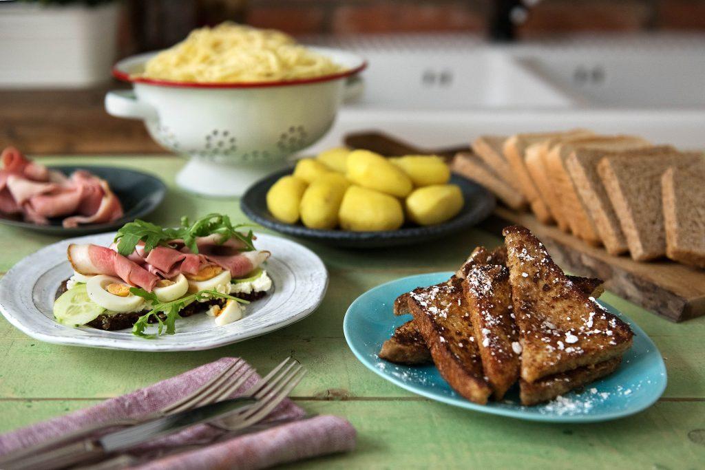 Resteverwertung: Nudeln, Kartoffeln und Brot