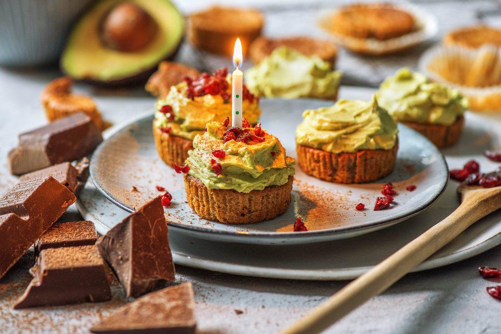 Unsere Geburtstags-Cupcakes: Zum Anbeißen