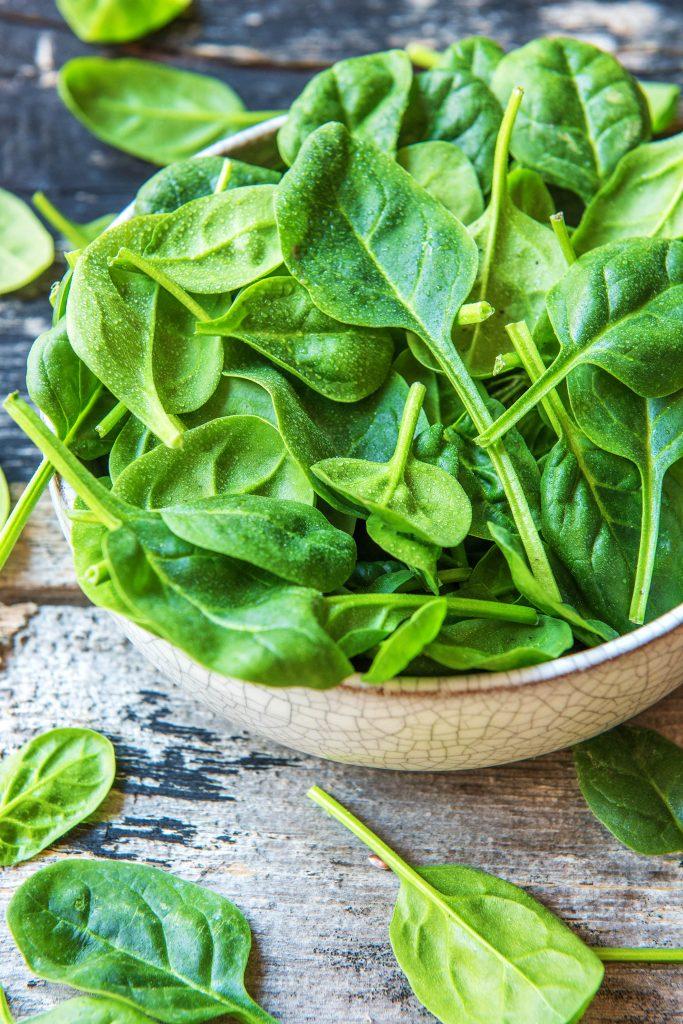 Unsere regionalen Superfoods: Spinat