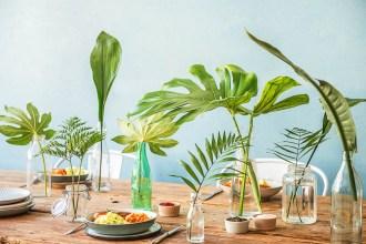 Leaf Green Table