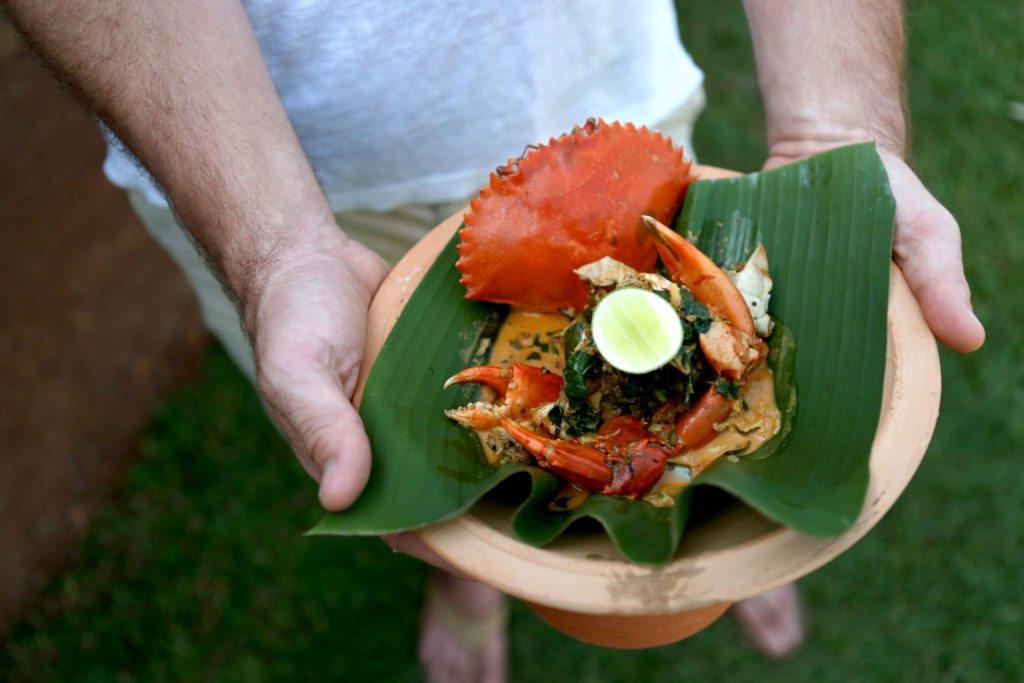 Sri Lanka Hotel Crab Curry