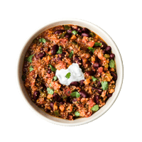One-Pot Veg Chilli with Quinoa