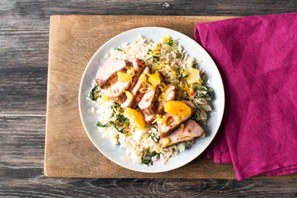 Duck à l'Orange with an Asian Twist