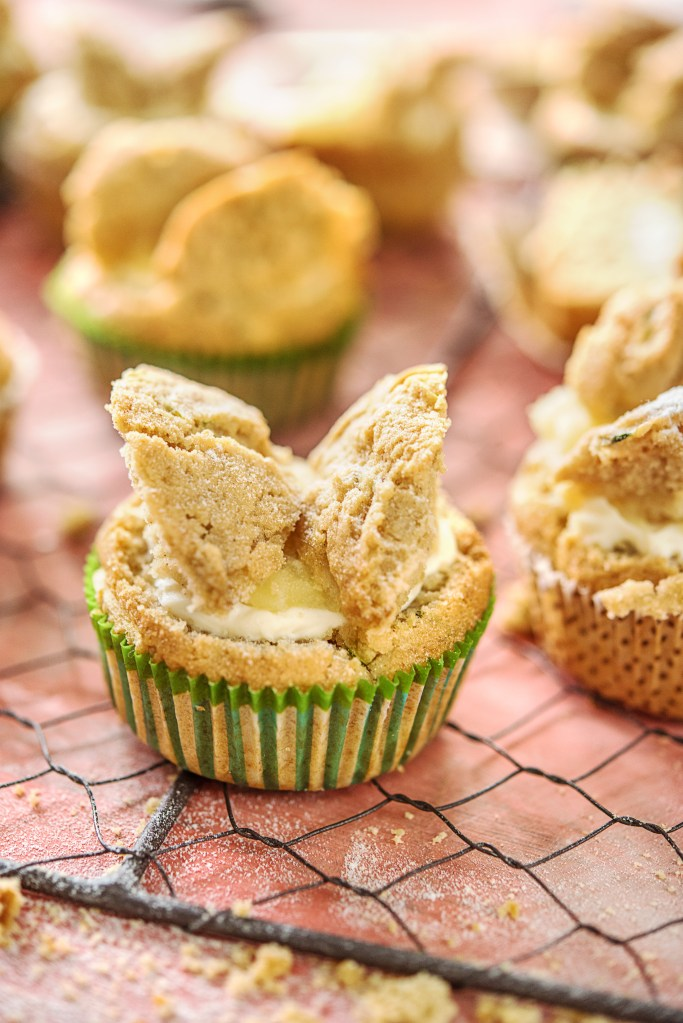 Courgette Butterfly Cakes