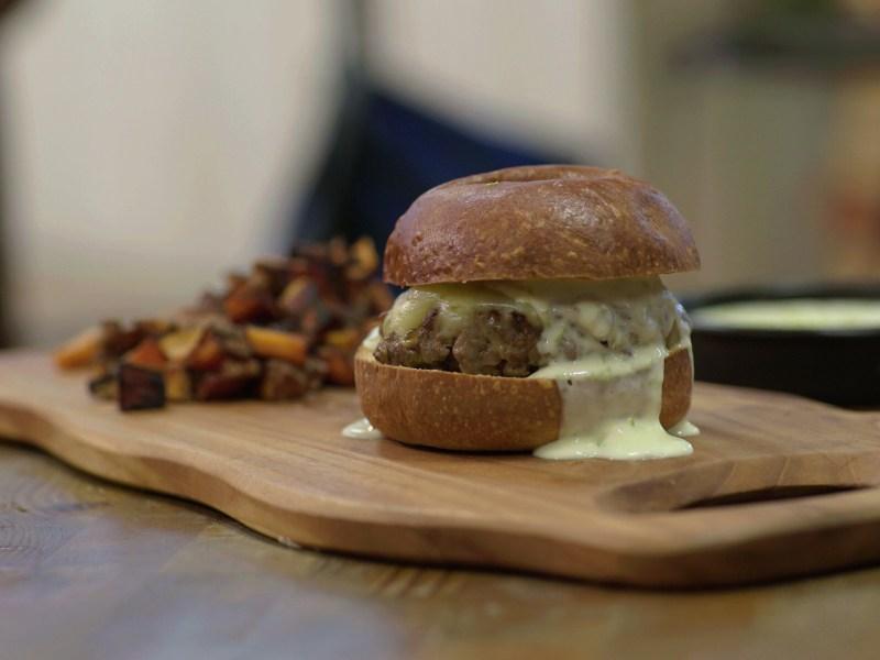 Patrick's Chow Mein Sloppy Joe Burgers
