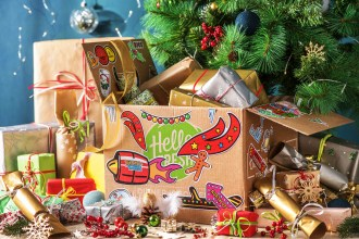 A Clever Way To Reuse Your HelloFresh Box This Christmas