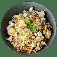 Roasted Spring Lamb with Za'atar Cauliflower