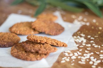 A wheat free Anzac biscuit recipe