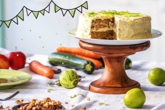 Our Carrot and Zucchini Birthday Cake