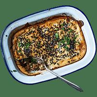Moroccan Spiced Lamb & Tahini Yoghurt Pie