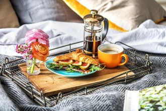Treat Mum with Breakfast in Bed this Mother's Day