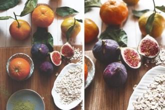 Seasonal Fig & Citrus Oatmeal
