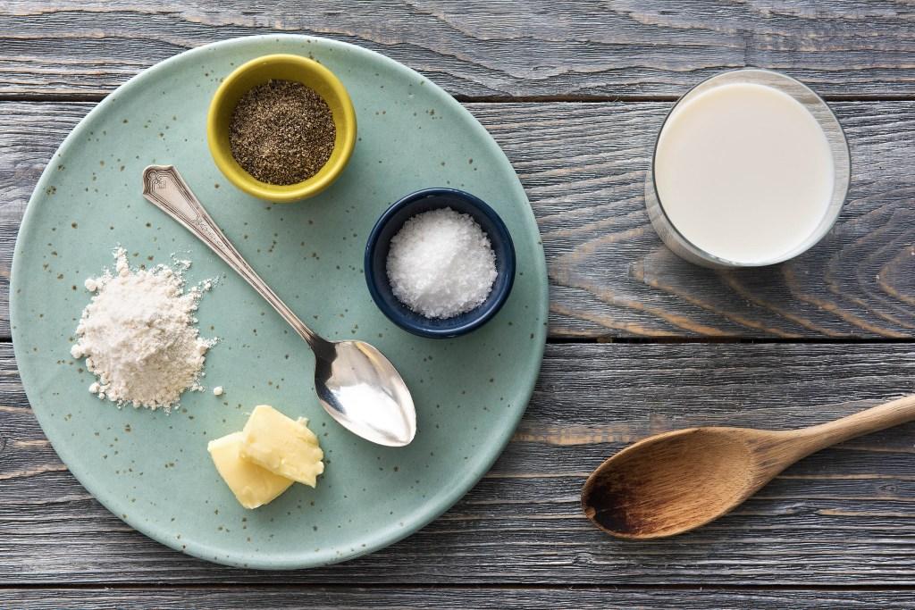 5 mother sauces-bechamel-ingredients-HelloFresh