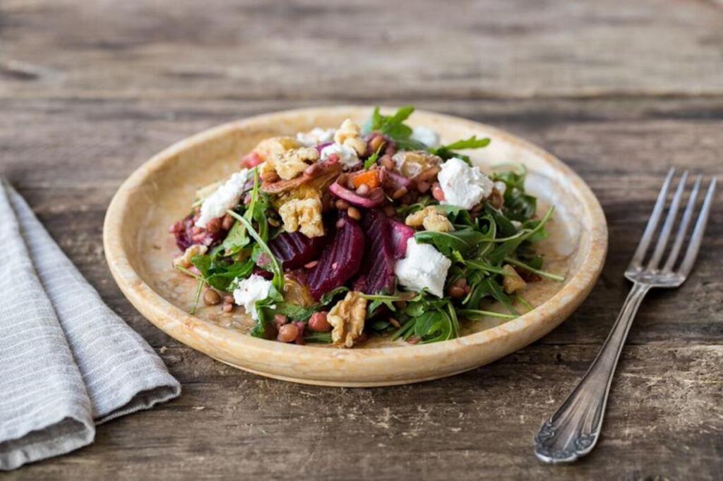 how to cook beets-recipes-beet-lentil-salad-HelloFresh