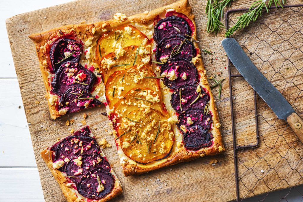 how to cook beets-recipes-beet-goat-cheese-tart-HelloFresh