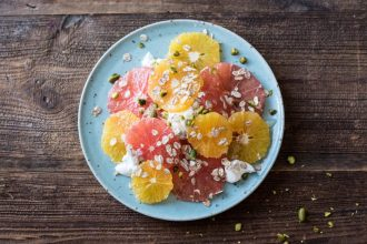 Simple Breakfast Citrus Salad