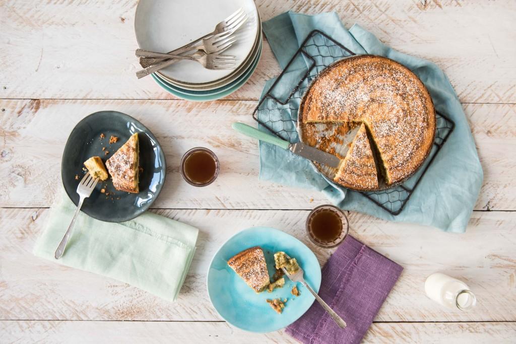 Matcha Recipes-HelloFresh-matcha-zebra-cake
