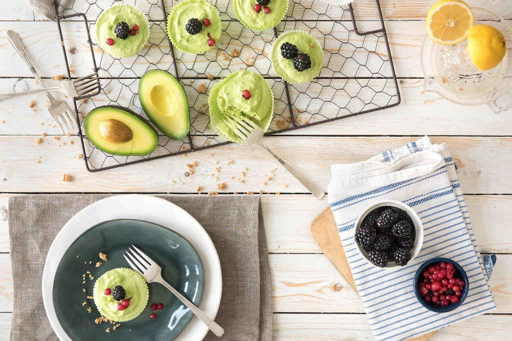 green foods-avocado-tartlet-HelloFresh