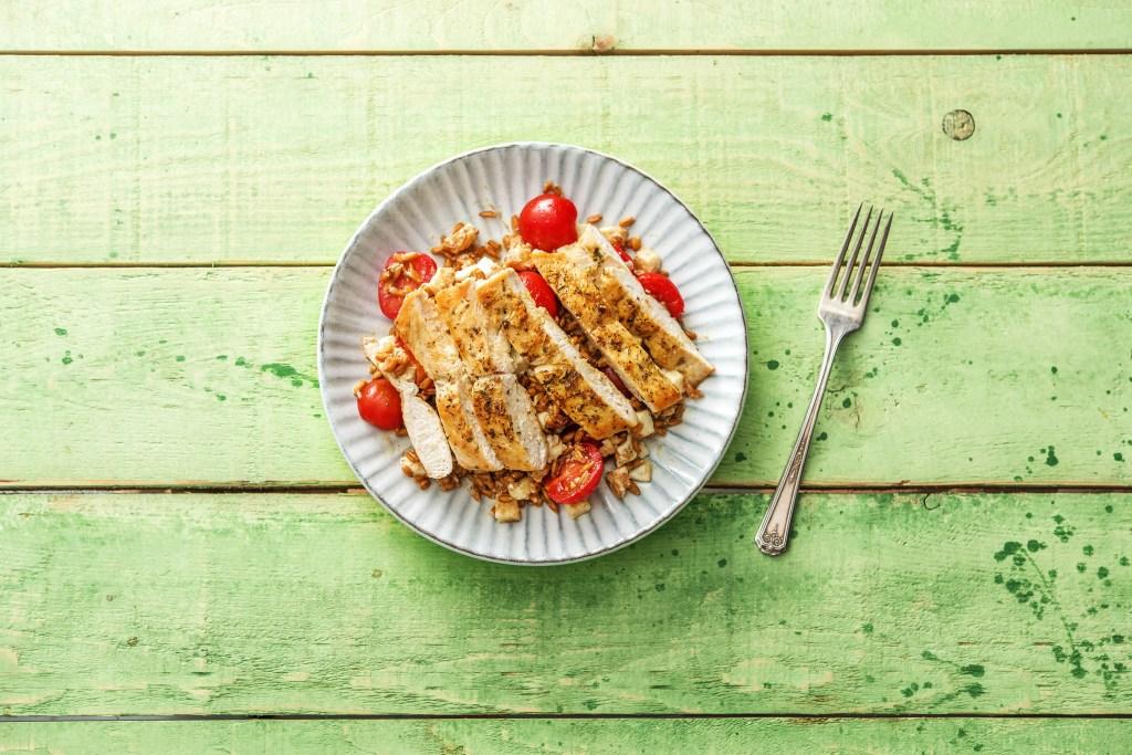 pan-seared chicken-farro-herbs-de-provence-HelloFresh