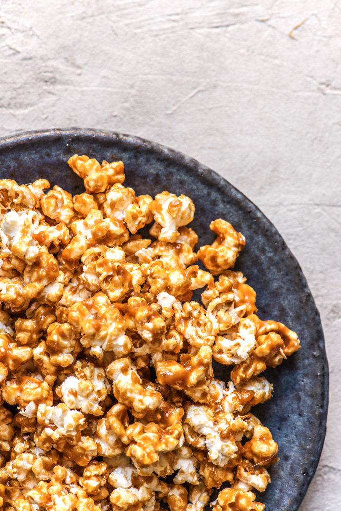 flavored popcorn-salted-caramel-HelloFresh-recipe