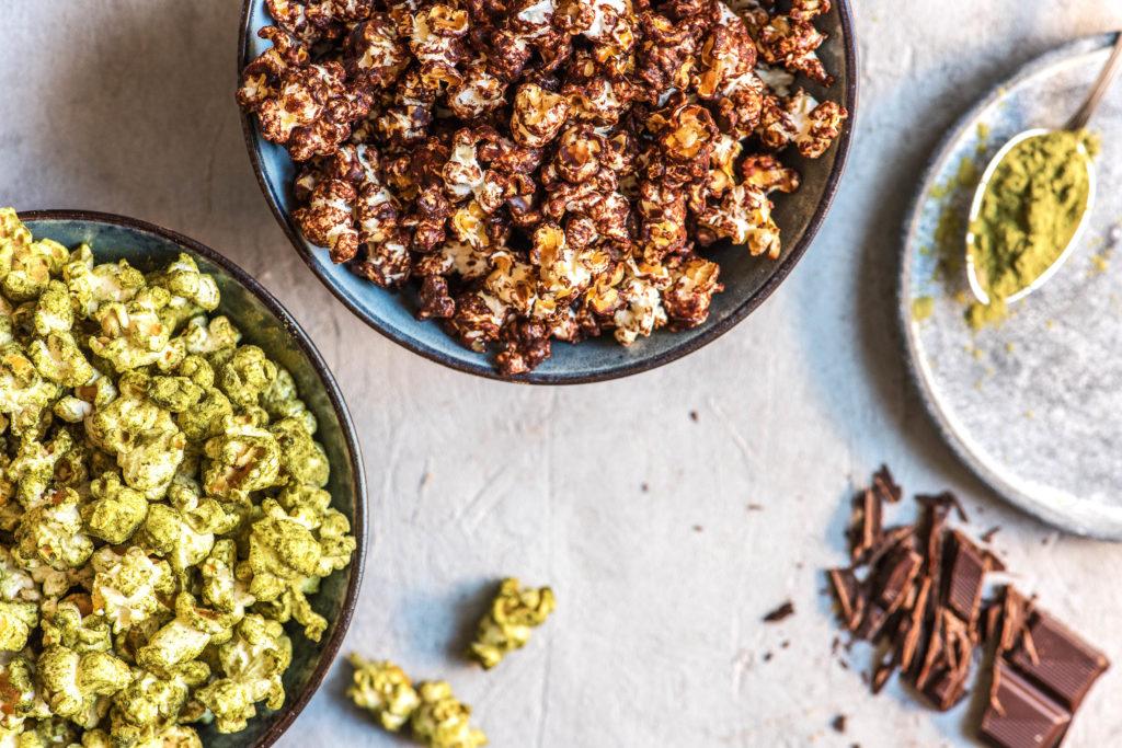 chocolate recipes-HelloFresh-popcorn-sea salt