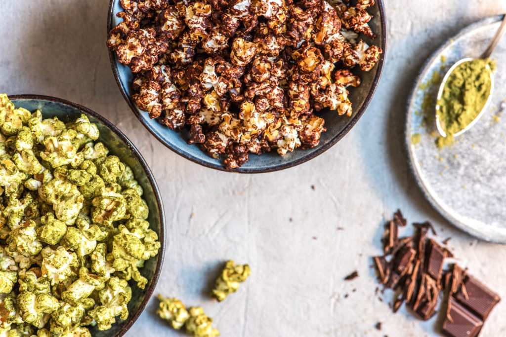 chocolate recipes-HelloFresh-popcorn-sea salt