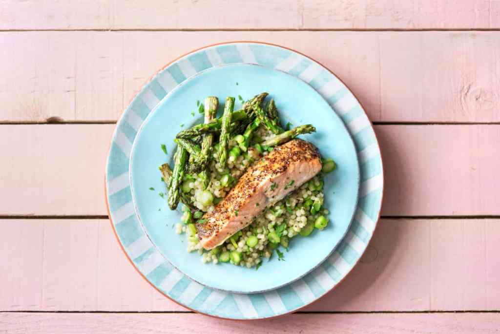 how to cook asparagus-honey-mustard-salmon-roasted-asparagus-recipe-HelloFresh