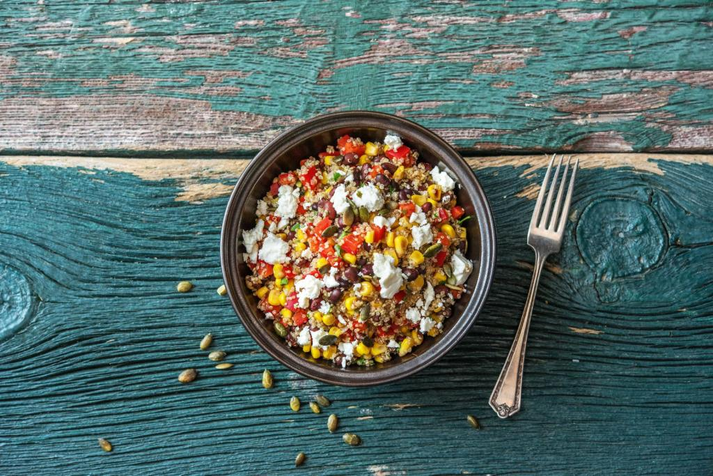 cilantro recipes-cinco-de-mayo-reservation-in-HelloFresh-quinoa-black-bean-bowl