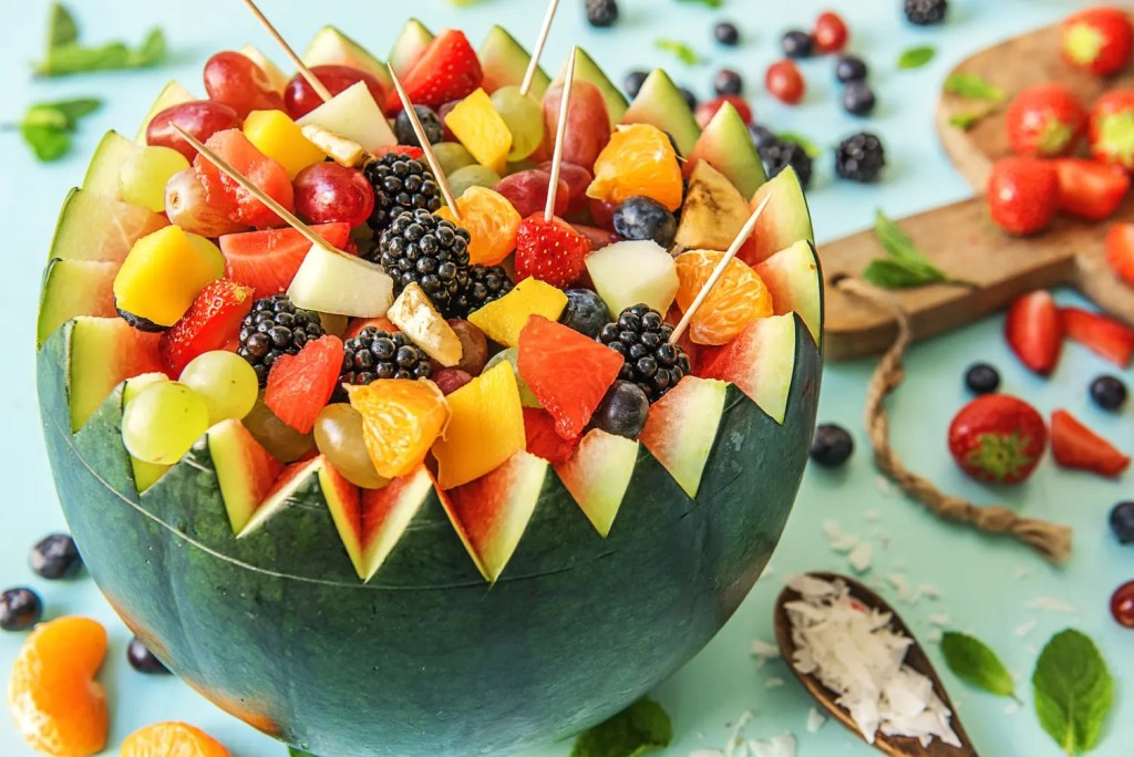 watermelon-fruit salad ideas-HelloFresh