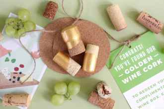Find The Golden Cork, Win a Free Box of Wine!