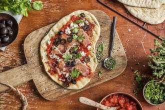 grilled-flatbread pizza recipe-HelloFresh