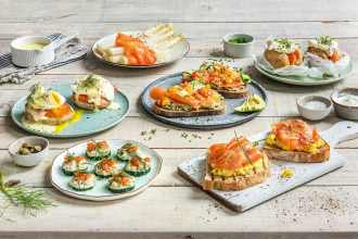 how to serve smoked salmon-recipes-HelloFresh
