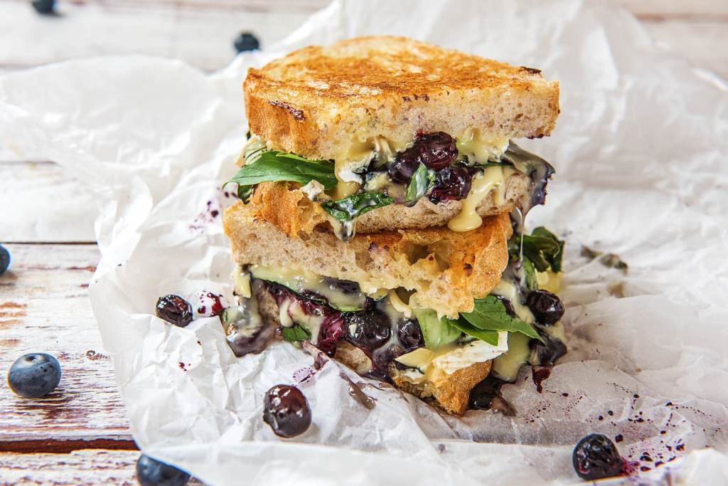 blueberry recipes-sandwich-HelloFresh