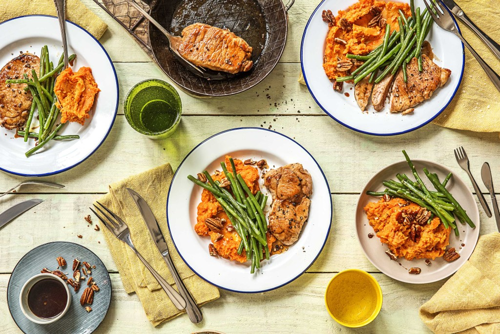 family recipes-maple-glazed-pork-chops-HelloFresh-new-family-plan