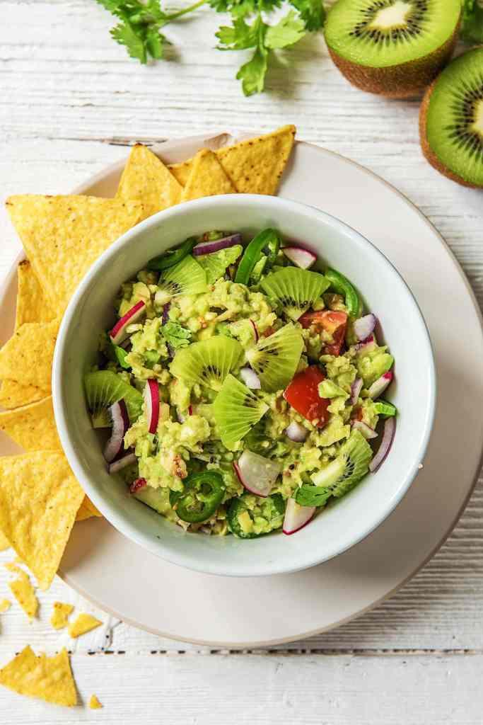 Kiwi Recipes-Kiwi-Guacamole_HelloFresh